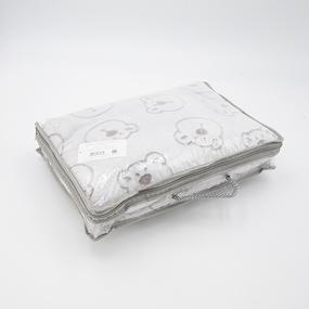 Покрывало велсофт стриженный Мишки 150/200 фото