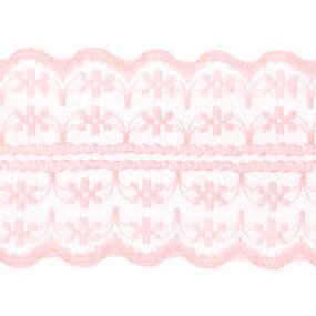 Кружево капрон 45 мм/10 м цвет 133-2 персиковый фото