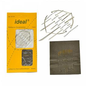 Иглы IDEAL 192 набор для ремонта - 7 игл, для слабовидящих - 10 игл (0340-0192) фото