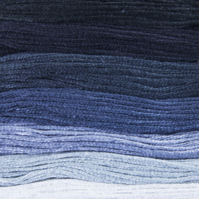 Нитки мулине Цветик-семицветик 10м ПНК набор 7 мотков 8 серый лепесток фото