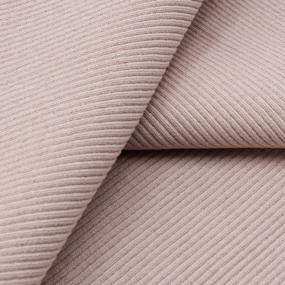 Ткань на отрез кашкорсе 3-х нитка с лайкрой цвет пудра фото