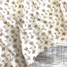 Маломеры Рубашечная ткань Элиф 21-10 Ключики 2 м фото