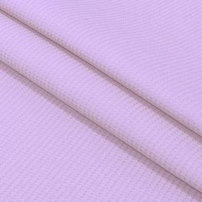 Вафельное полотно гладкокрашенное 150 см 165 гр/м2 цвет фиалка фото