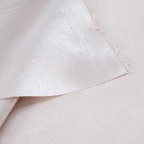 Ткань на отрез креп-сатин 1960 цвет пудра фото