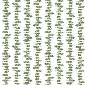 Ткань на отрез муслин 135 см 7361/1 Веточки фото