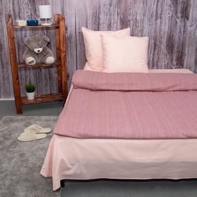 Постельное белье из перкаля Эко Персиковое дерево 2-х сп с евро простыней фото
