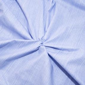 Постельное белье из перкаля Эко Нежность Евро с нав 50/70 фото