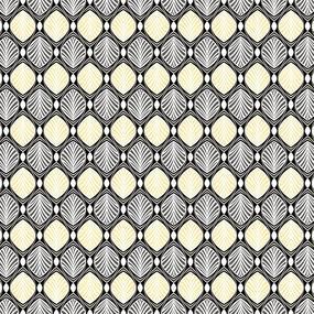 Ткань на отрез бязь Премиум 150 см 13112/1 Арт-деко фото