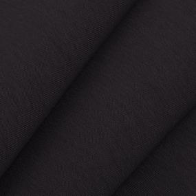 Ткань на отрез футер 3-х нитка компакт пенье цвет черный фото