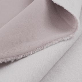 Ткань на отрез футер 3-х нитка компакт пенье цвет темно-пудровый фото