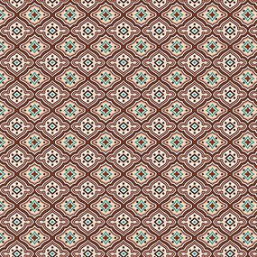 Сатин 80 см набивной арт 540 Тейково рис 5445 вид 3 фото