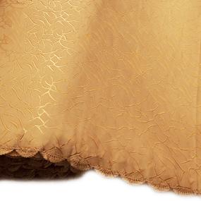 Мерный лоскут на отрез портьерная ткань Мрамор 150 см персиковый фото