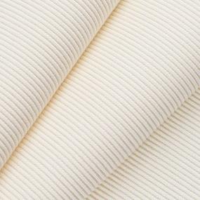 Ткань на отрез кашкорсе с лайкрой цвет молочный фото