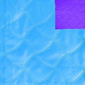 Ультрастеп 220 +/- 10 см цвет голубой-фиолетовый на отрез фото