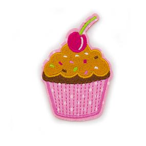 Аппликация вишенка на торте 5*7,5см фото