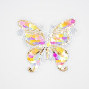 Аппликация Бабочка 19*16см фото