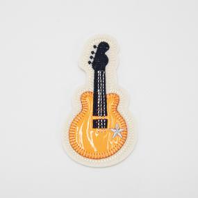 Аппликация Гитара 10*5см фото