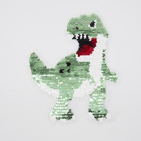 Аппликация Динозавр трансформер 22*18см фото