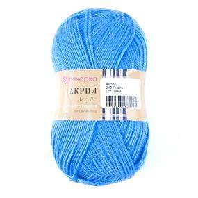 Пряжа для вязания ПЕХ Акрил 100гр/300м цвет 242 гжель фото