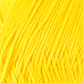 Пряжа для вязания ПЕХ Акрил 100гр/300м цвет 080 канарейка фото