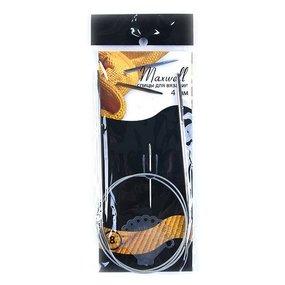 Спицы круговые на тросиках MAXWELL 80 см 8 4,0 мм фото