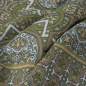 Покрывало гобелен Восточный (укр.) зеленый 147/210 фото