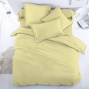 Ткань на отрез перкаль гладкокрашеный 150 см 82050/10 цвет желтый фото