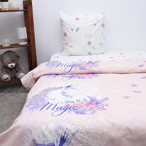Детское постельное белье из бязи 1.5 сп 3025-2 Единорог фото