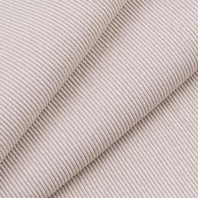 Ткань на отрез кашкорсе с лайкрой 29-1 цвет кремовый фото