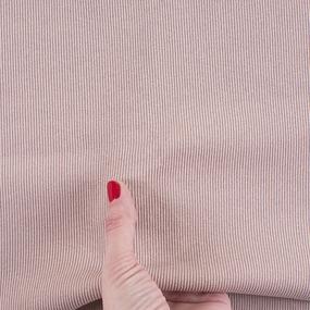Ткань на отрез кашкорсе с лайкрой 224-1 цвет пудровый фото