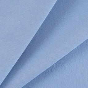 Ткань на отрез футер с лайкрой 5699-1 цвет голубой фото