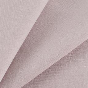 Ткань на отрез футер с лайкрой 224-1 цвет пудровый фото