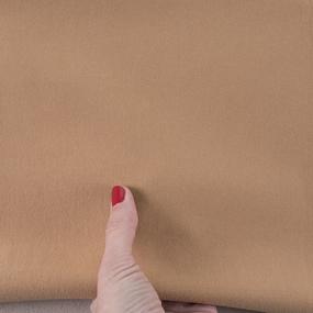 Ткань на отрез футер с лайкрой 48-1 цвет темно-бежевый фото