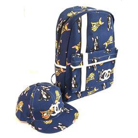Школьный рюкзак + бейсболка Домашние питомцы фото