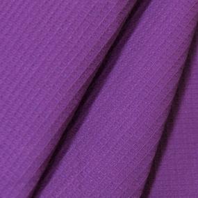 Полотенце вафельное банное 150/75 см цвет черника фото