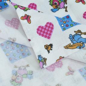 Набор детских пеленок фланель 4 шт 75/120 см 158-1П фото