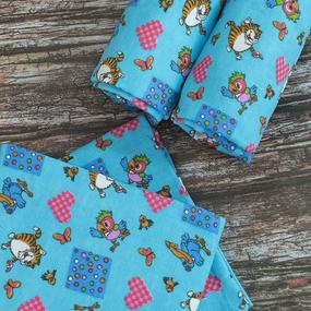 Набор детских пеленок фланель 4 шт 75/120 см 158-4П фото