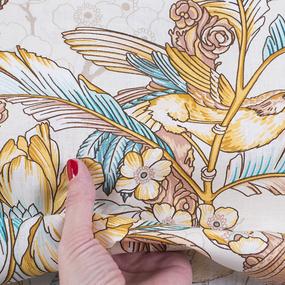 Бязь Премиум 150 см набивная Тейково рис 13094 вид 1 Золотой век фото