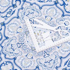 Бязь Премиум 150 см набивная Тейково рис 30039 вид 1 Версаль фото