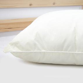 Подушка Лебяжий пух Вензель цвет желтый 60/60 фото