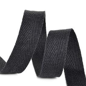Тесьма киперная 13 мм хлопок 1,8г/см арт.12.2С-253К.13.005 цв.черный фото