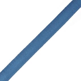 Тесьма киперная 17 мм хлопок 1,8г/см арт.12.2С-256К.17.032 цв.синий фото