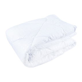 Одеяло Лебяжий пух 200/220 300гр/м2 чехол поплекс фото