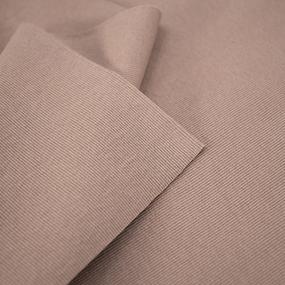 Ткань на отрез кашкорсе с лайкрой цвет светло-коричневый фото