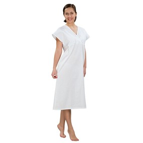 Сорочка женская ночная бязь отбеленная 56-58 рост 180-188 фото