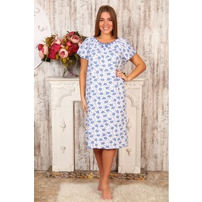 Сорочка женская Крестьянка компьтерка размер 44 фото