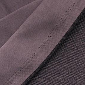 Ткань на отрез Blackout лен рогожка 508-39 коричневый фото