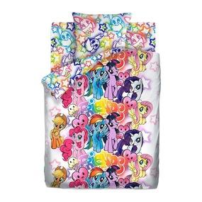 КПБ 1.5 хлопок My Little Pony Neon (70х70) рис. 16027-1/16028-1 Граффити фото