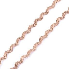 Тесьма плетеная вьюнчик (МЕТАНИТ) С-2914 (3621) г17 уп 20 м ширина 7 мм (5 мм) рис 8657 цвет 198 фото