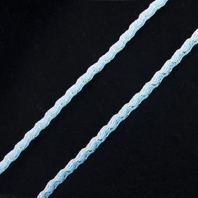 Тесьма плетеная вьюнчик (МЕТАНИТ) С-3784 г17 уп 20 м ширина 7 мм (5 мм) рис 9377 цвет 29 фото